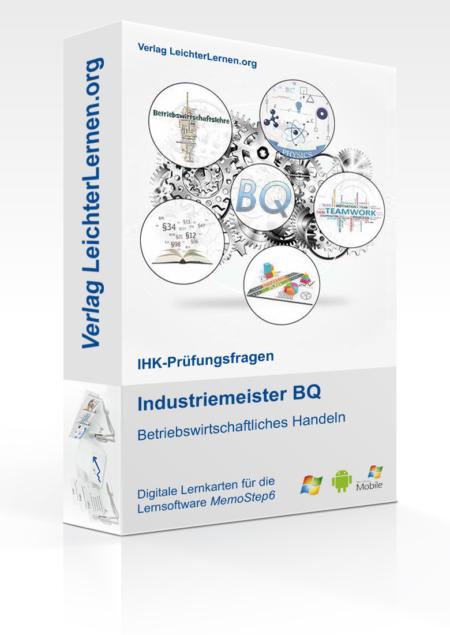 Digitale Lernkarteikarten Industriemeister BQ - Betriebswirtschaftliches Handeln (BWH)