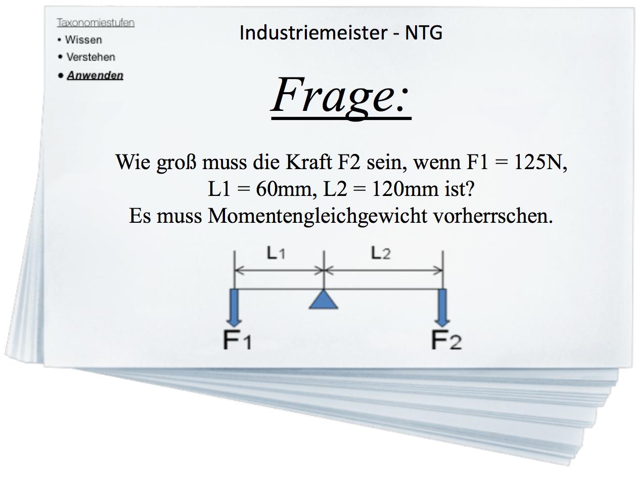 Industriemeister BQ - Naturwissenschaftliche und