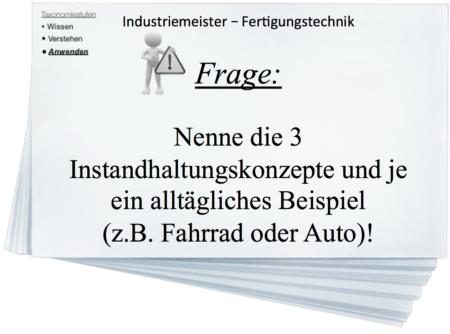 Industriemeister HQ - Fertigungstechnik (FT)