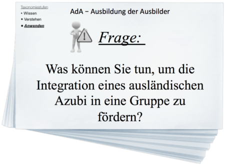 Digitale Lernkarteikarten AdA - Ausbildung der Ausbilder / AEVO
